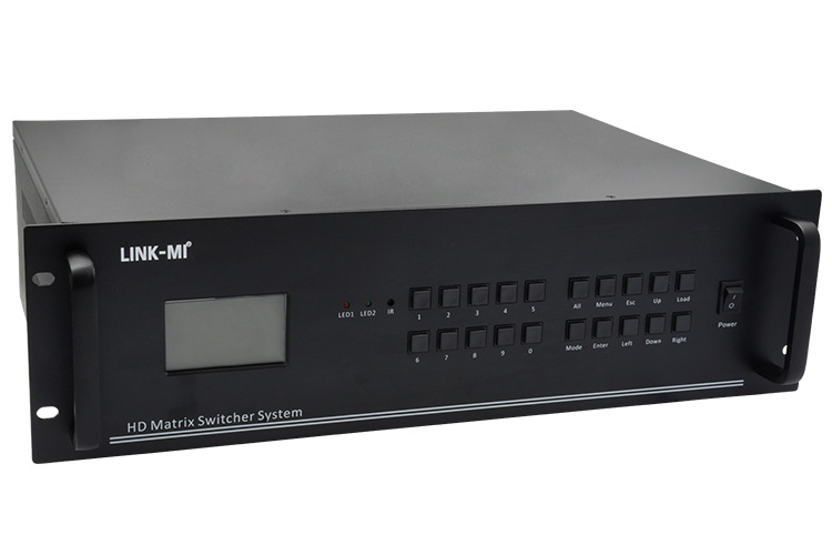 LINK-MI LM-MX16H Hybrid Matrix Switcher System